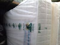 2 X memory foam single mattresses