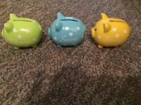 SHARE SAVE SPEND PIGGY BANK-$5 TAKES THEM, BRAND NEW