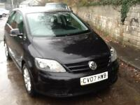 Volkswagen Golf Plus 1.9TDI DIESEL,105 bhp Luna 5 DOOR
