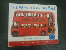 Wheels On The Bus (BTMS edition) Teddy Sound bookbyDavid Ellwand