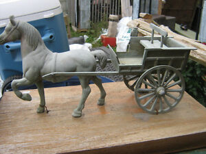 brass horse and cart London Ontario image 2