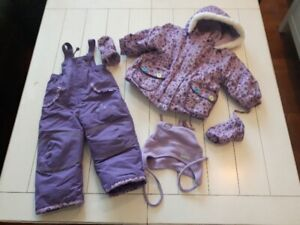 Size 18Months Girl Trois Moutons Winter Kit