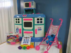 ensemble de jouets