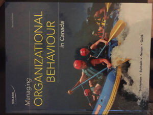Managing Organizational Behaviour in Canada Textbook