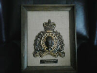 RCMP Crest, Wall Mount