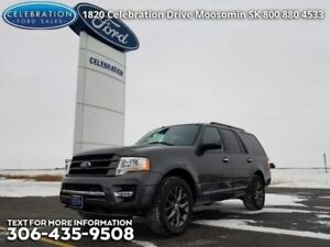 2017 Ford Expedition Limited  Next-to-New, Certified, Low KMS!