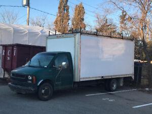Chevrolet Cube diesel 16 pieds 3500$ ferme