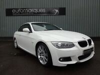 BMW 3 SERIES 320i M Sport (white) 2011
