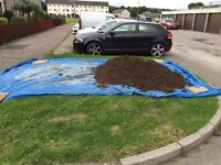 Good top soil free for collection