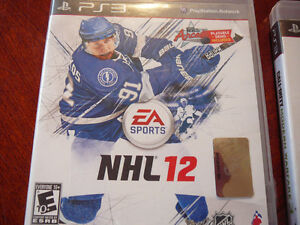 SONY PS3 NHL 12 GAME