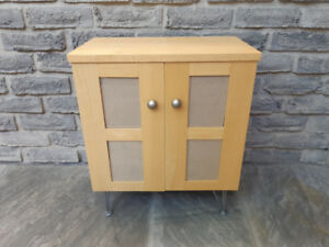 SMALL SIDE TABLE END CABINET