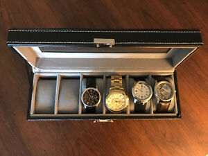 Watches for sale: 4 + case for $300