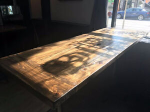 Bar Tops, Table's and more!