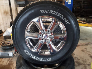 2019 NEW 181N CROME F150 WITH MICHELIN TIRES $1500