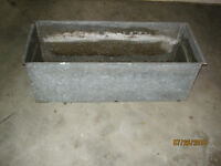 Galvanized steel planters for sale
