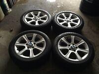 Bmw 5x120 F30 3 Series Trafic Transporter Vivaro Van Alloys Wheels Tyres
