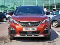 2019 Peugeot 3008 1.2 PureTech GT Line 5dr Estate Petrol Manual