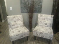 Slipper Chair (one or two available)