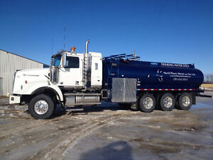 POTABLE WATER TRIAXLE must sell