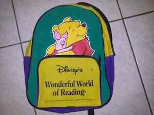 Sac à dos Winnie The Pooh valeur de 12$
