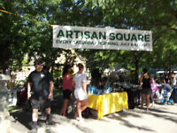 Vendors Wanted for Artisan Square Saturday Market