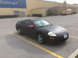 2003 Mitsubishi Eclipse Coupe (2 door) LOW KM, RUNS GREAT
