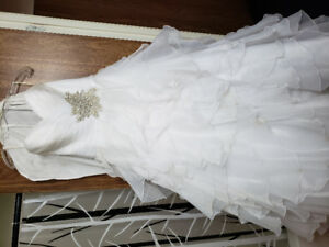 Wedding dress for sale.