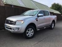 Ford Ranger 3.2TDCi Limited 4x4 Double Cab..SAT NAV..LEATHER..SUPERB.