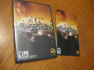 Lot jeux pc de course, collection need for speed.