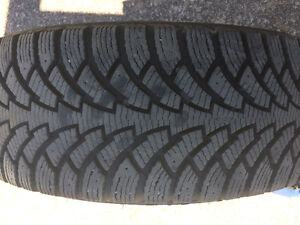 4 Nearly Brand New Winter Tires