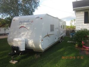 29 Foot Jay Feather Travel Trailer