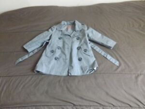 Size 2 years girls grey coat