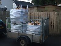 Firewood logs blocks fire wood £100 for 3 ton bags