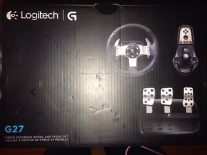Logitech G27 race wheel excellent condition
