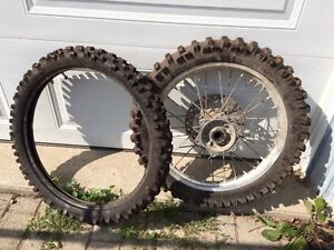 Dirt Bike Tires- Make an offer, come and get them :)