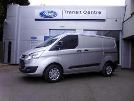 NEW Ford Transit Custom 2.0TDCi 130PS 270 L1H1 Trend in Silver + LED - Onsite