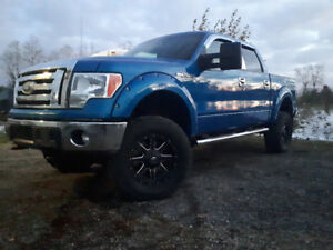 2013 Ford F-150 Lariat Loaded Pickup Truck Lifted Short Box