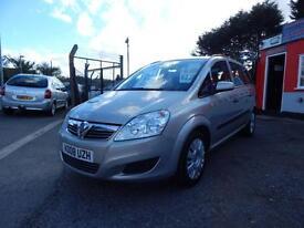 2008 Vauxhall Zafira 1.6i Life 5dr 7 seater,2 keys,12 months mot,warranty,fin...
