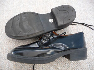 Gently Used Boy's Black Dress Shoes - Size 13 London Ontario image 2