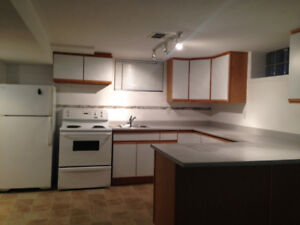 2 bedroom basement suite-  Utilities included