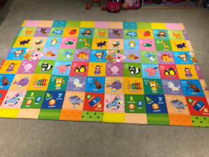 Baby Care Play Mat Foam Floor Gym - 82.7 x 55.1 Inches