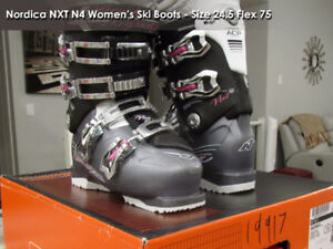 NORDICA NXT WOMEN'S SKI BOOTS 24.5