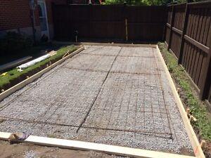 Cement pads BNR excavating Peterborough Peterborough Area image 3