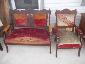 Settee and Chair Project