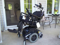 Power Wheelchair, Invacare TDX SP *power tilting seat*Reduced*