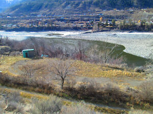 Ideal Building Lot for Cottage on the Fraser River in Lillooet