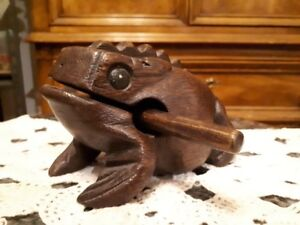 African wood frog musical instrument