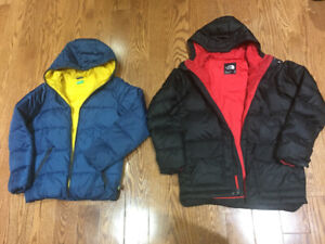 2 for 50$ warm Winter jackets for boy 10-13