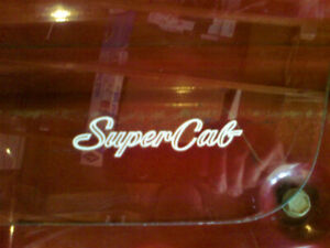 1974-1979 FORD SUPERCAB GLASS.