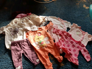 Girls 0 to 3 Month Lot